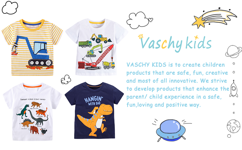 T-Shirts for Little Boys