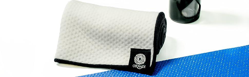 hot yoga face towel bamboo