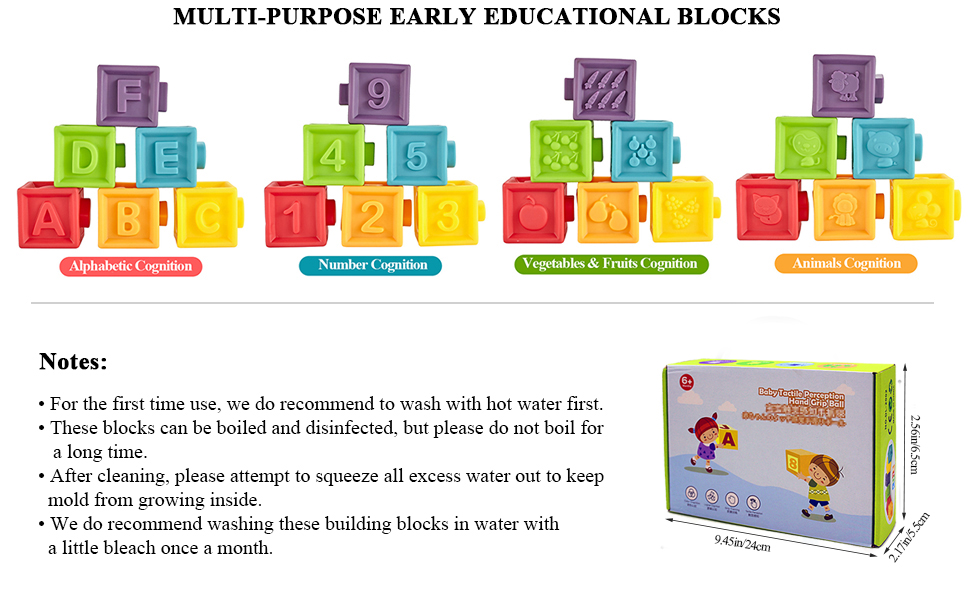 soft blocks for early learning