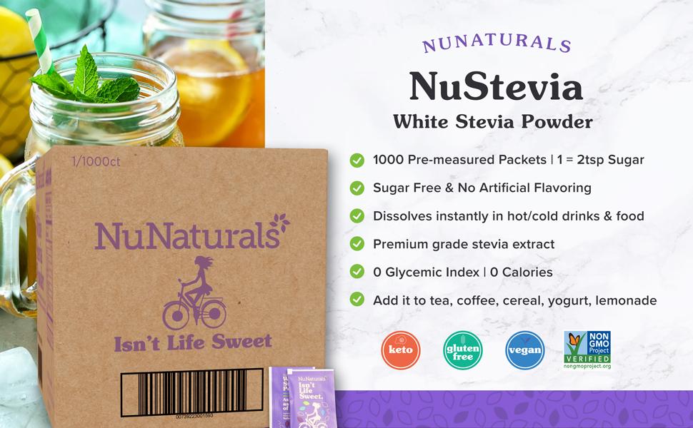 1,000 White Stevia