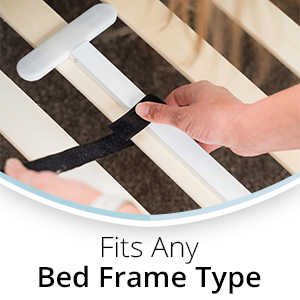 Fits any bed frame type
