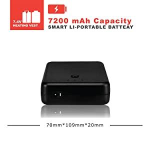 7.4V 6600mAh Capacity