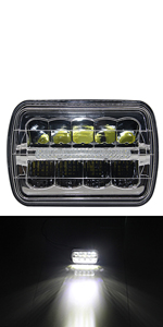 5x7 Led Headlight