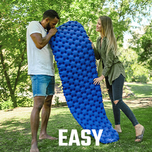 compact sleeping pad, sleeping pad, camping pads for sleeping, inflatable sleeping pad