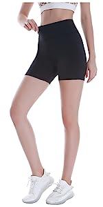 Women's High Waist Biker Yoga Shorts