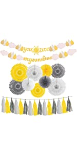 You are My Sunshine Party Decoration