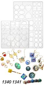 Cabochon Gem Jewelry Making Mold Set