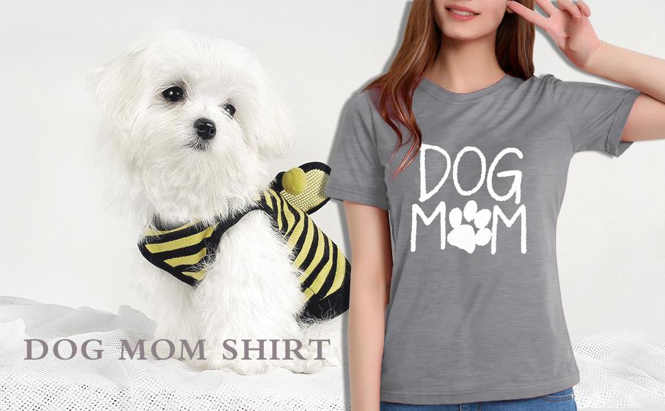 Dog Mom Shirt Top