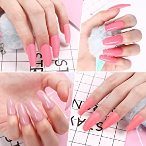 Poly gel nail enhancement