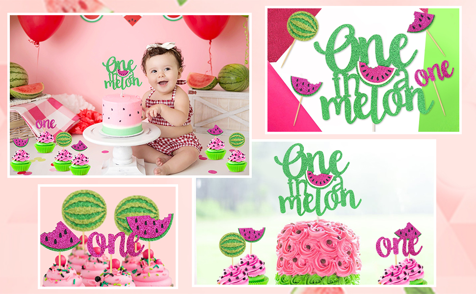 A watermelon party is great for summer birthdays!