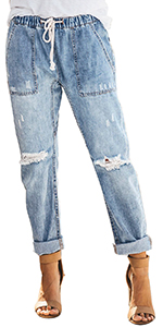 women jean pants casual
