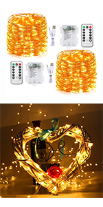 100 Led Warm White USB Plug in & Battery Operated Fairy Lights indoor outdoor string christmas diy
