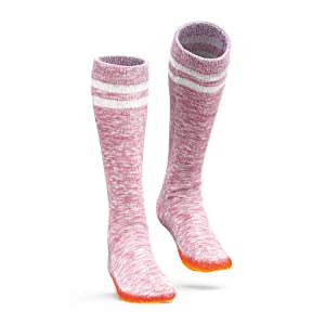 Pink Heated Socks