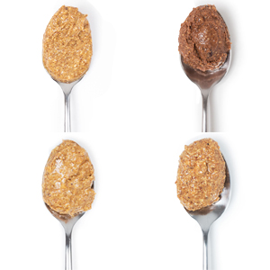 All four almond butters