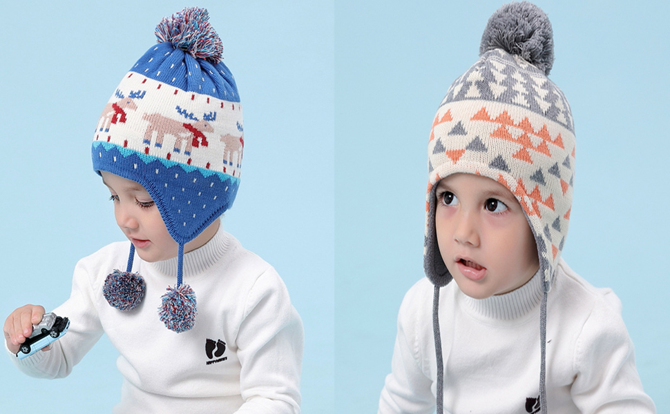 Bucaum Knitted hat series. Suitable for any occasion, it will bring infinite warmth to your baby!