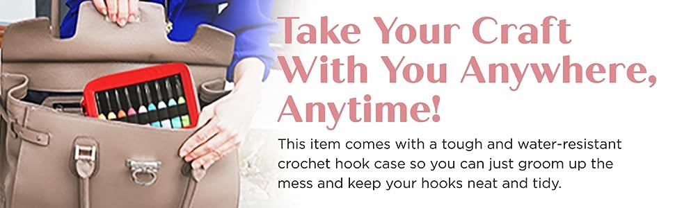 ergonomic crochet hooks