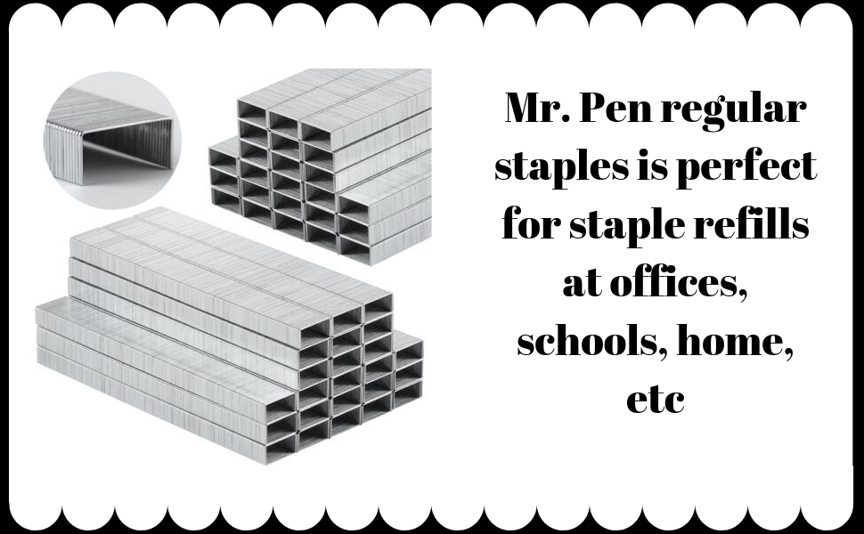 Compatible With Standard Office Staplers