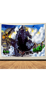 Cookie Tapestry Trippy Wall Hanging Amusement Park Tapestry Easter Happy Tapestry Fantasy Space