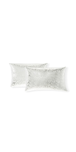 black bling pillows decorative throw pillows silver off white bed throw body pillow cover suade