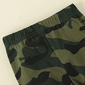 Fashion camouflage printed long pants