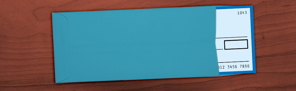 blue #11 policy envelope