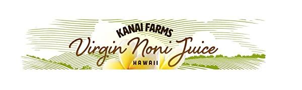 virgin noni juice hawaiian organic pure 100 kanai farms hawaii