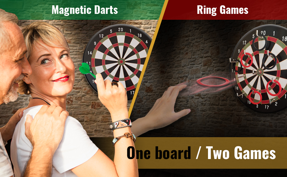 Magnetic Dart Game - Ring Toss Game