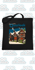 Overlook Hotel Horror Movie Makes Jack A Dull Boy Large Canvas Tote Bag Women