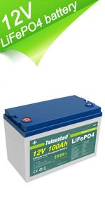 12v 100ah battery pack