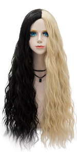 Two Tone Curly Wig