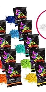 color pack 11 colors powder fun summer