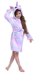 Children Unicorn Robe