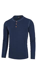 Lightweight Henley T Shirts