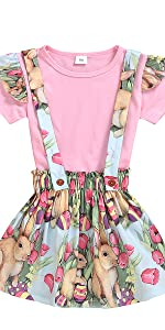 Toddler Baby Girl Easter Day Outfit