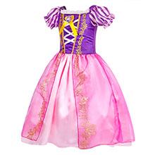 little girls dresses ruffle HG018-2