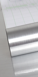 stainless steel contact paper