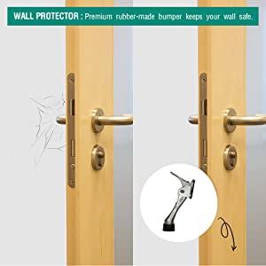 hinge door stopper, door stopper security, door stopper hinge, door stopper decorative