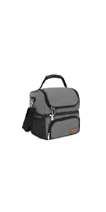 lunch bag 2 compartments