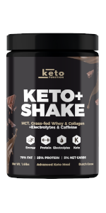 best keto shake meal replacement protein shakes perfect ketosis diet drink low carb mct oil powder