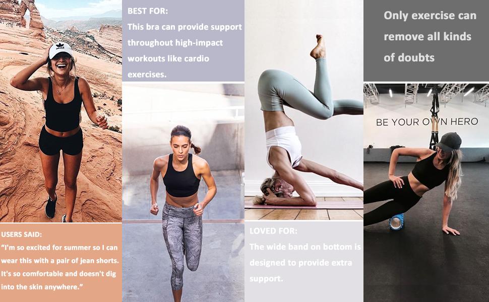 workout running gym sports bra