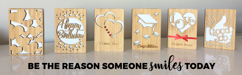 Bamboo Greeting Card Collection