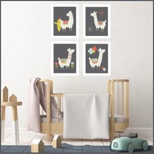 llama nursery, llama decor, llama prints, llama posters, kids art, kids print, llama art prints