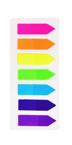 Neon Color Page Markers