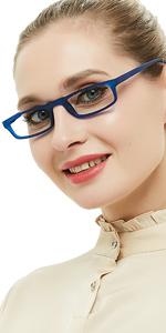 Reading Glasses Presbyopic Designer Women 1.0 1.25 1.5 1.75 2.0 2.25 2.5 Strength reader 52mm