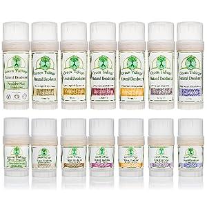 natural deodorant lorganic gluten free vegan aluminum paraben