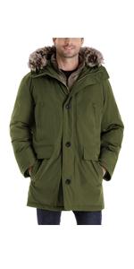 men warm coat