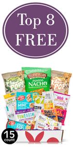 Top 8 Allergen Free Snacks