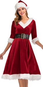 Mrs.claus costume