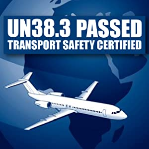 Un38.3 certification passed flight plain on board transport safety certified