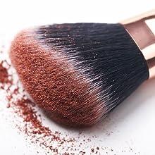 makeup brushes hair